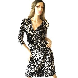 Tommy Bahama white leopard dress